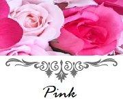 ピンク色のシルクフラワーでお作りしたウエディングアイテム